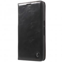 """""""CaseMe"""" solidus atverčiamas dėklas - juodas (Nexus 6P)"""