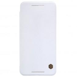 """""""Nillkin"""" Qin atverčiamas dėklas - baltas (Nexus 6P)"""