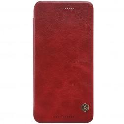 """""""Nillkin"""" Qin atverčiamas dėklas - raudonas (Nexus 6P)"""