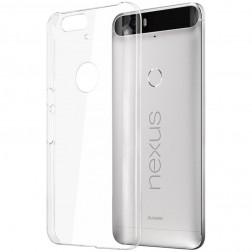 Plastikinis dėklas - skaidrus (Nexus 6P)