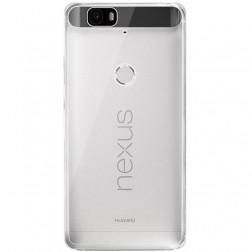 Ploniausias TPU dėklas - skaidrus (Nexus 6P)