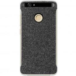 """""""Huawei"""" Leather Case dėklas - tamsiai pilkas (Nova)"""