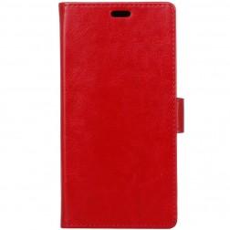 Atverčiamas dėklas, knygutė - raudonas (P10 Plus)