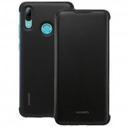 """""""Huawei"""" Wallet Cover atverčiamas dėklas - juodas (P smart 2019 / Honor 10 Lite)"""