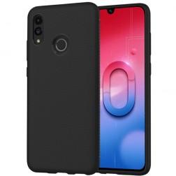 """""""Lenuo"""" kieto silikono (TPU) dėklas - juodas (P smart 2019 / Honor 10 Lite)"""