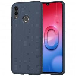 """""""Lenuo"""" kieto silikono (TPU) dėklas - mėlynas (P Smart 2019)"""
