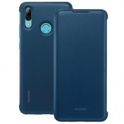 """""""Huawei"""" Wallet Cover atverčiamas dėklas - mėlynas (P Smart 2019)"""