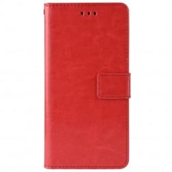 Atverčiamas dėklas, knygutė - raudonas (P Smart Z)