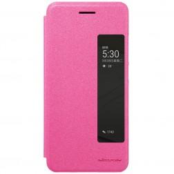 """""""Nillkin"""" Sparkle atverčiamas dėklas - rožinis (P10 Plus)"""