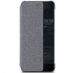 """""""Huawei"""" Smart View Cover atverčiamas dėklas - šviesiai pilkas (P10)"""