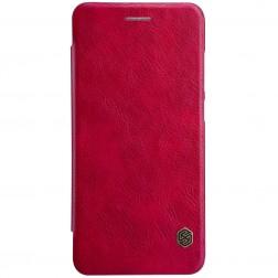 """""""Nillkin"""" Qin atverčiamas dėklas - raudonas (P10 Lite)"""