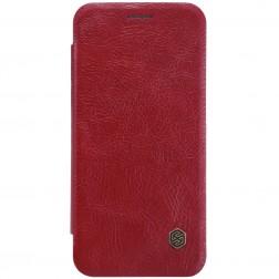 """""""Nillkin"""" Qin atverčiamas dėklas - raudonas (P20 Lite)"""