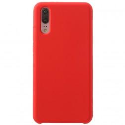 """""""Shell"""" kieto silikono (TPU) dėklas - raudonas (P20)"""