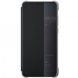 """""""Huawei"""" Smart View Flip Cover atverčiamas dėklas - juodas (P20)"""