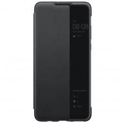 """""""Huawei"""" Smart View Flip Cover atverčiamas dėklas - juodas (P30 Lite)"""