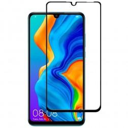 """""""Premium"""" Tempered Glass pilnai dengiantis apsauginis ekrano stiklas 0.2 mm - juodas (P30 Lite)"""