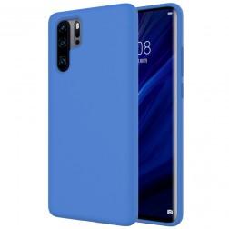 """""""Shell"""" kieto silikono (TPU) dėklas - mėlynas (P30 Pro)"""