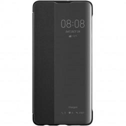 """""""Huawei"""" Smart View Flip Cover atverčiamas dėklas - juodas (P30)"""