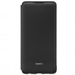 """""""Huawei"""" Wallet Cover atverčiamas dėklas - juodas (P30)"""