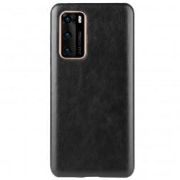 Slim Leather dėklas - juodas (P40)