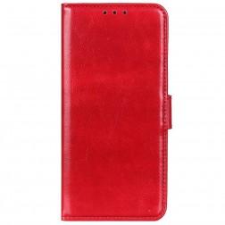 Atverčiamas dėklas, knygutė - raudonas (P40 Lite)