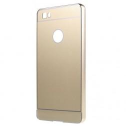 """""""Luxury"""" plastikinis dėklas - auksinis (P8 Lite)"""