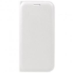 """""""Flip Wallet"""" atverčiamas dėklas - baltas (P9 Lite 2017)"""