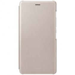 """""""Huawei"""" Smart Flip Cover atverčiamas dėklas - auksinis (P9 lite)"""
