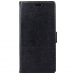 Atverčiamas dėklas, knygutė - juodas (P9 Lite Mini)