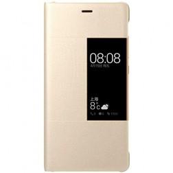 """""""Huawei"""" Rimless View atverčiamas dėklas - auksinis (P9)"""