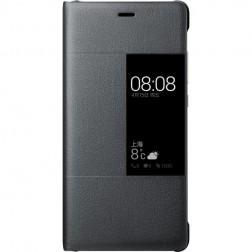 """""""Huawei"""" Rimless View atverčiamas dėklas - juodas (P9)"""