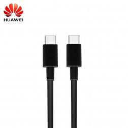 """Huawei"" Type-C Type-C laidas - juodas (1 m.)"