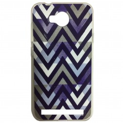 """Pattern"" kieto silikono dėklas - violetinis (Y3 II)"