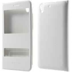"""""""Smart Window"""" atverčiamas odinis dėklas - baltas (Y6 II)"""