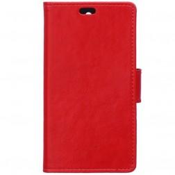 Atverčiamas dėklas, knygutė - raudonas (Y6 Pro)
