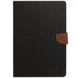 """""""Mercury"""" Fancy atverčiamas dėklas - rudas (iPad Mini 1 / 2 / 3)"""