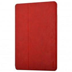 """""""Devia"""" atverčiamas odinis dėklas - raudonas (iPad Pro 9.7)"""