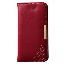 """""""Kalaideng"""" Royale atverčiamas dėklas - raudonas (iPhone 5 / 5S / SE)"""