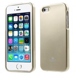 """""""Mercury"""" dėklas - auksinis (iPhone 5 / 5S / SE)"""