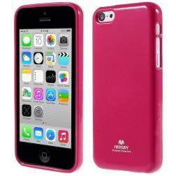"""""""Mercury"""" Color dėklas - tamsiai rožinis (iPhone 5C)"""