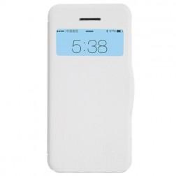 """""""Nillkin"""" Fresh atverčiamas dėklas - baltas (iPhone 5c)"""