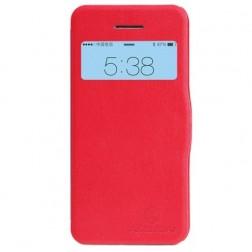"""""""Nillkin"""" Fresh atverčiamas dėklas - raudonas (iPhone 5c)"""