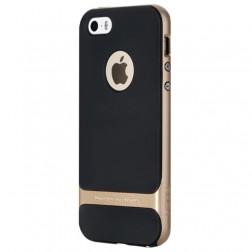 """""""Rock"""" Royce dėklas - juodas / auksinis (iPhone 5 / 5s / SE)"""