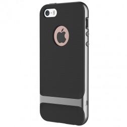 """""""Rock"""" Royce dėklas - juodas / pilkas (iPhone 5 / 5s / SE)"""