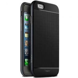 """""""IPAKY"""" kieto silikono (TPU) dėklas - juodas (iPhone 6 / 6s)"""