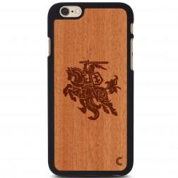 """""""Crafted Cover"""" natūralaus medžio dėklas - Vytis (iPhone 6 / 6s)"""