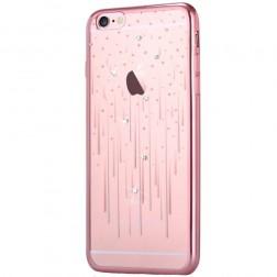 """""""Devia"""" Meteor Diamond dėklas - rožinis (iPhone 6 / 6S)"""