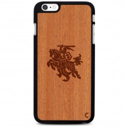 """""""Crafted Cover"""" natūralaus medžio dėklas - Vytis (iPhone 6 Plus / 6s Plus)"""