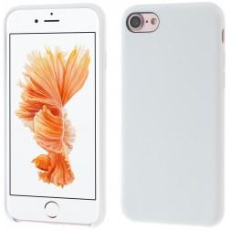 Kieto silikono (TPU) dėklas - baltas (iPhone 7 / 8)