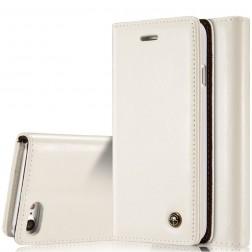 """""""CaseMe"""" solidus atverčiamas dėklas - baltas (iPhone 7 / 8)"""
